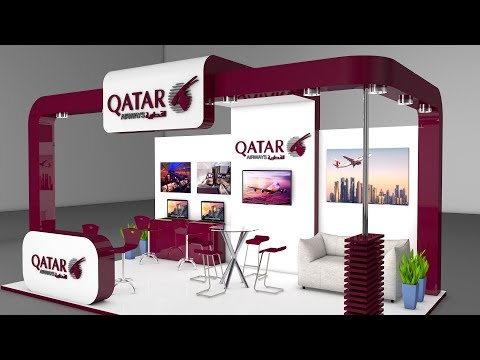 Cinema 4d Modeling Tutorial - Exhibition Stand   Cinema 4D Tutorial   C4D Tutorial
