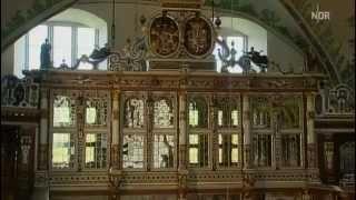 Frühbarocke Orgel von ca.1560 in der Schloss-Kapelle Gottdorf bei Schleswig