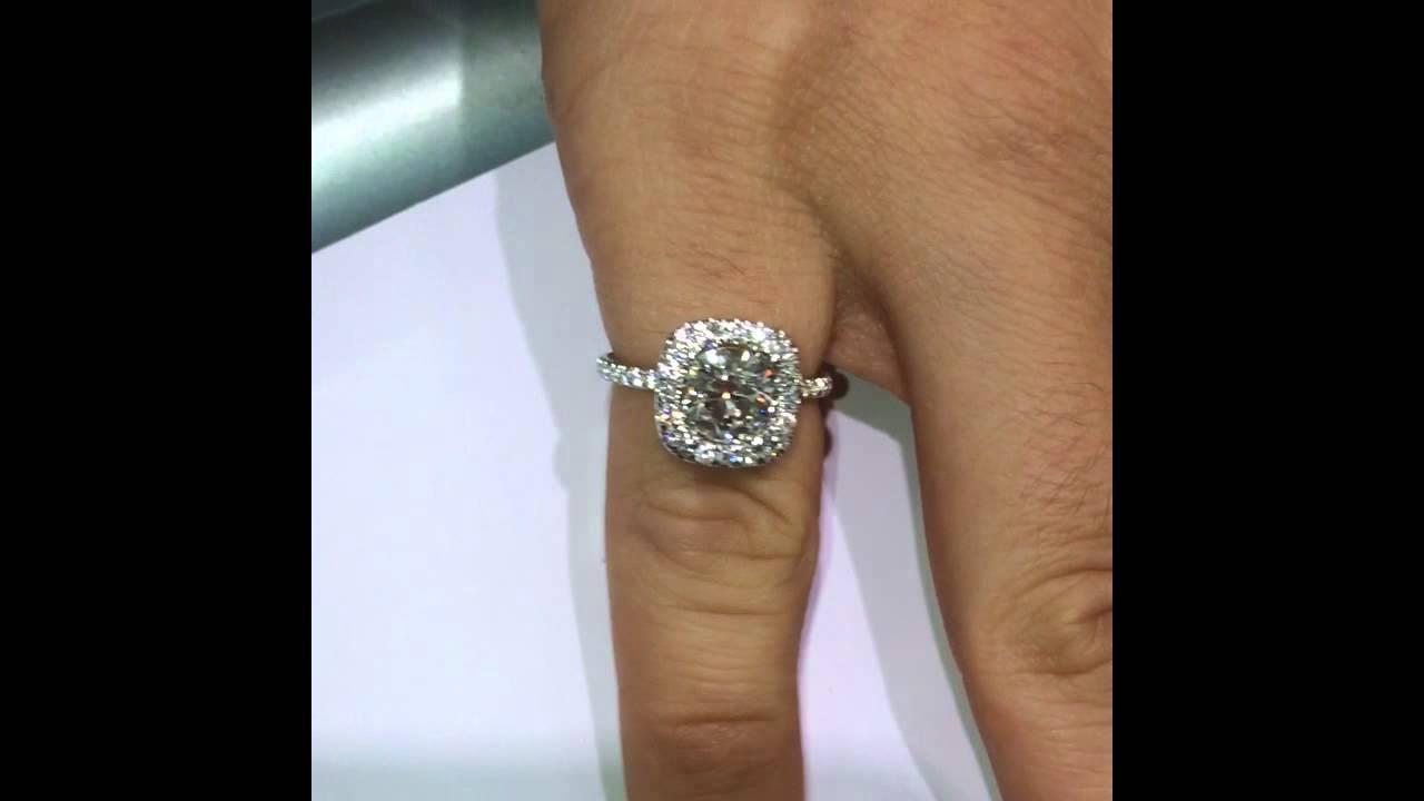 1 5 1 6 Cts Round Diamonds Size And Color Comparison