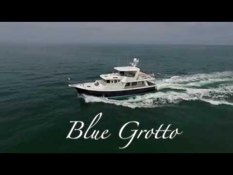 "55' Selene Trawler ""Blue Grotto"" [Yacht Tour]"