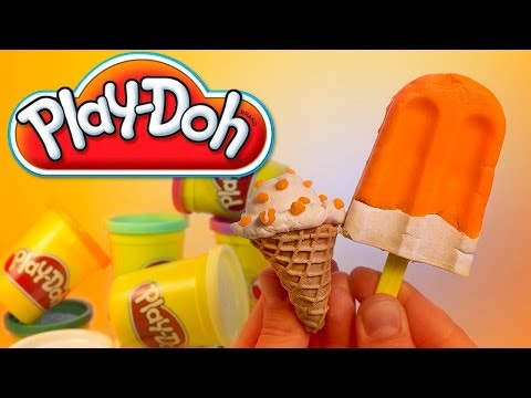 Ice cream & cupcakes Play Doh playset playdough by Unboxingsurpriseegg