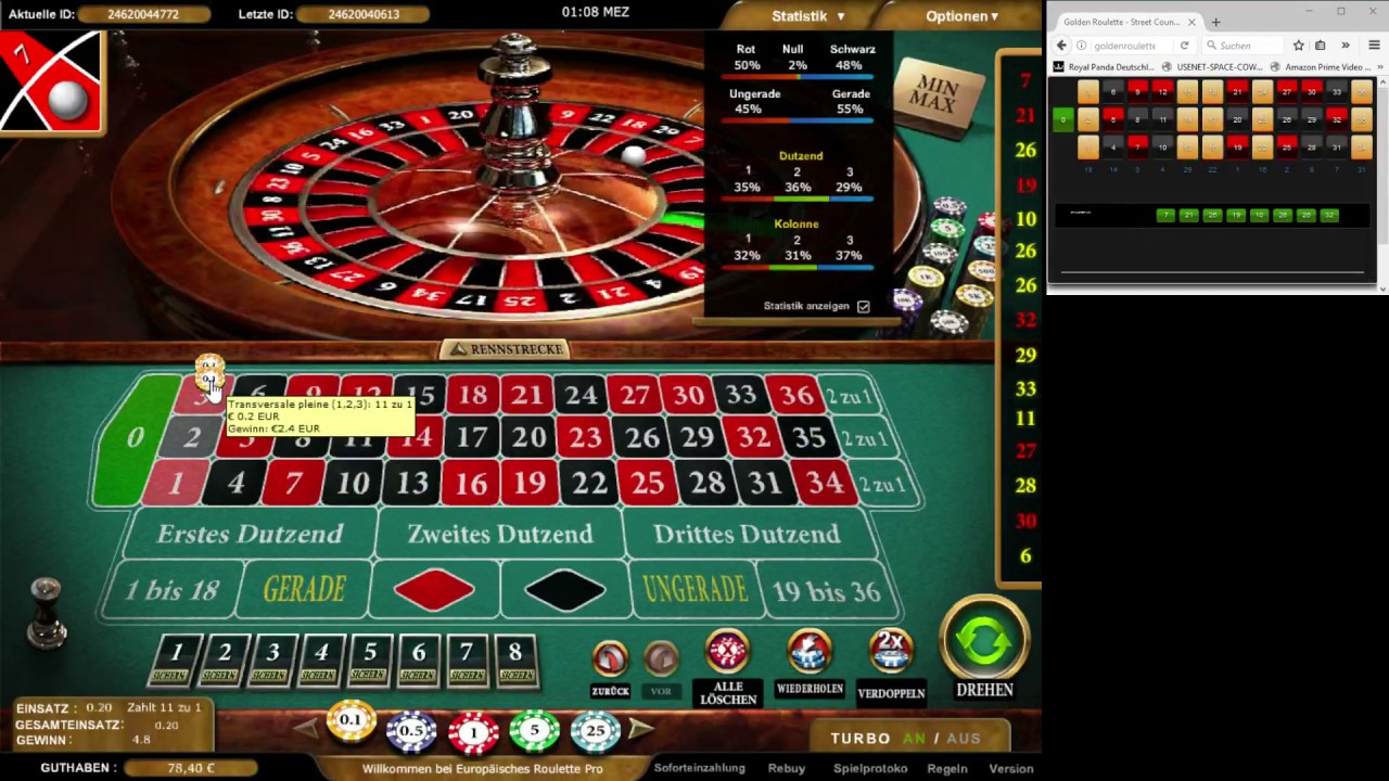Roulette Counting System