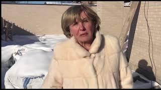 В Киеве титушек пригнали к дому, который строит мама Саакашвили