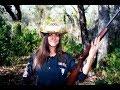 Girls shooting guns I found my moms rifle
