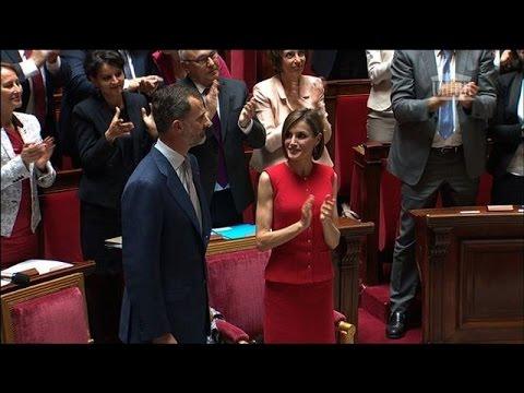 """Felipe VI d'Espagne à l'Assemblée française: """"Nous voulons plus de France"""" en Europe et dans le"""
