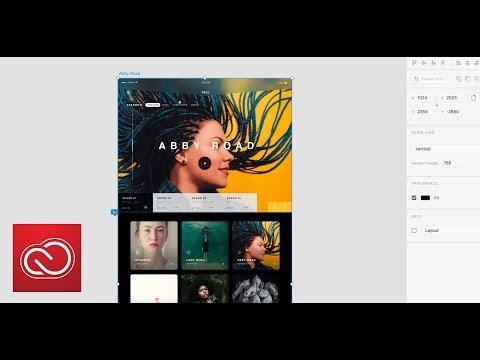 Adobe XD June Update: Fixed Elements   Adobe Creative Cloud