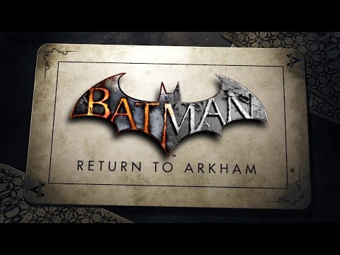 Batman Return to Arkham Gameplay (Arkham Asylum)  PS4 Gameplay