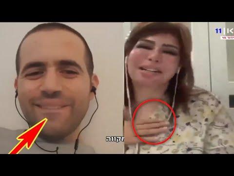 شاهد السعودية سعاد الشمري لصحفي الاسرائ يلي احبكم انتو حلوين وماذا كان رده Youtube