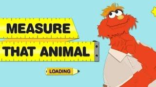 Sesame Street Measure That Animal Murray Online Game For Children
