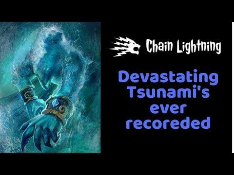 Tsunami - A Devastating Force Of Nature