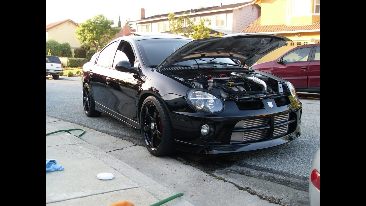 Top Fastest Cars >> 11 second Turbo Dodge Neon SRT-4 - YouTube