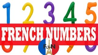 French Numbers (Learn French with French avec Nous)