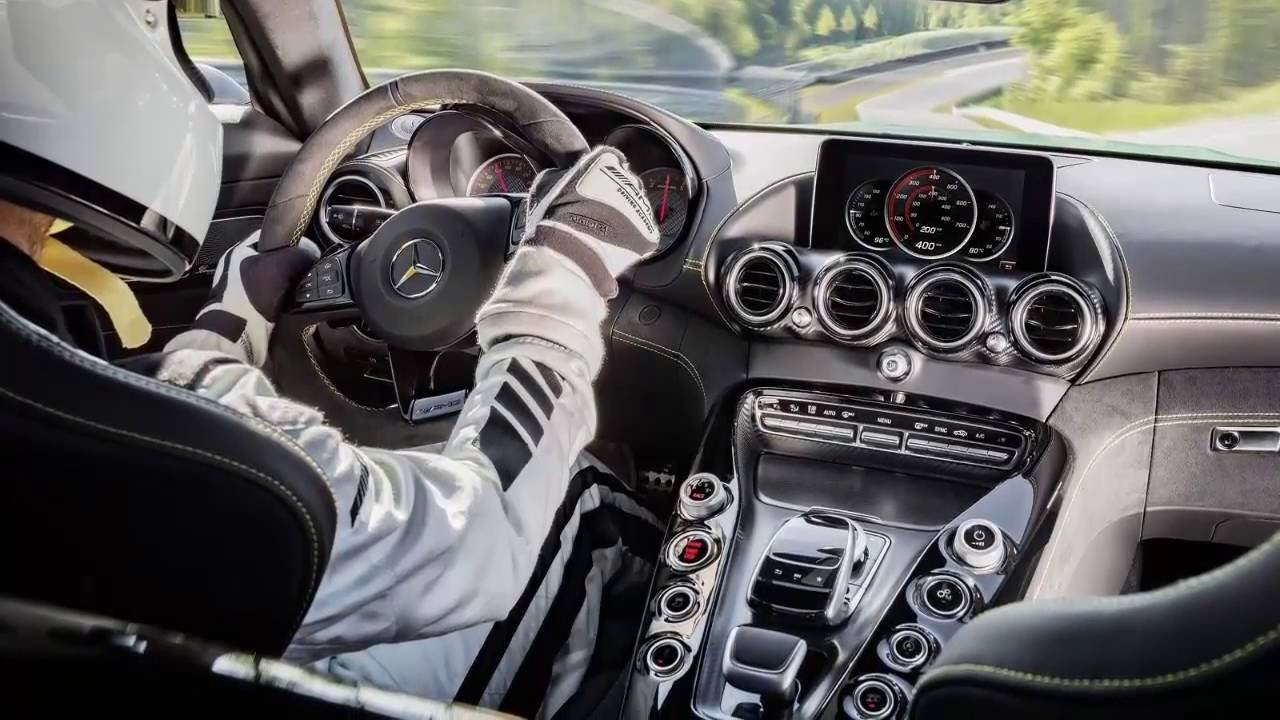 mercedes benz amg gt r 2017 ready to race interior design - youtube