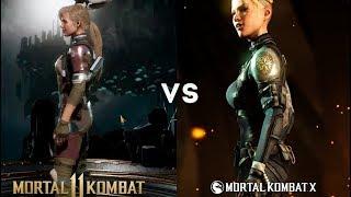 Сравнение Mortal Kombat 11 с Mortal Kombat X