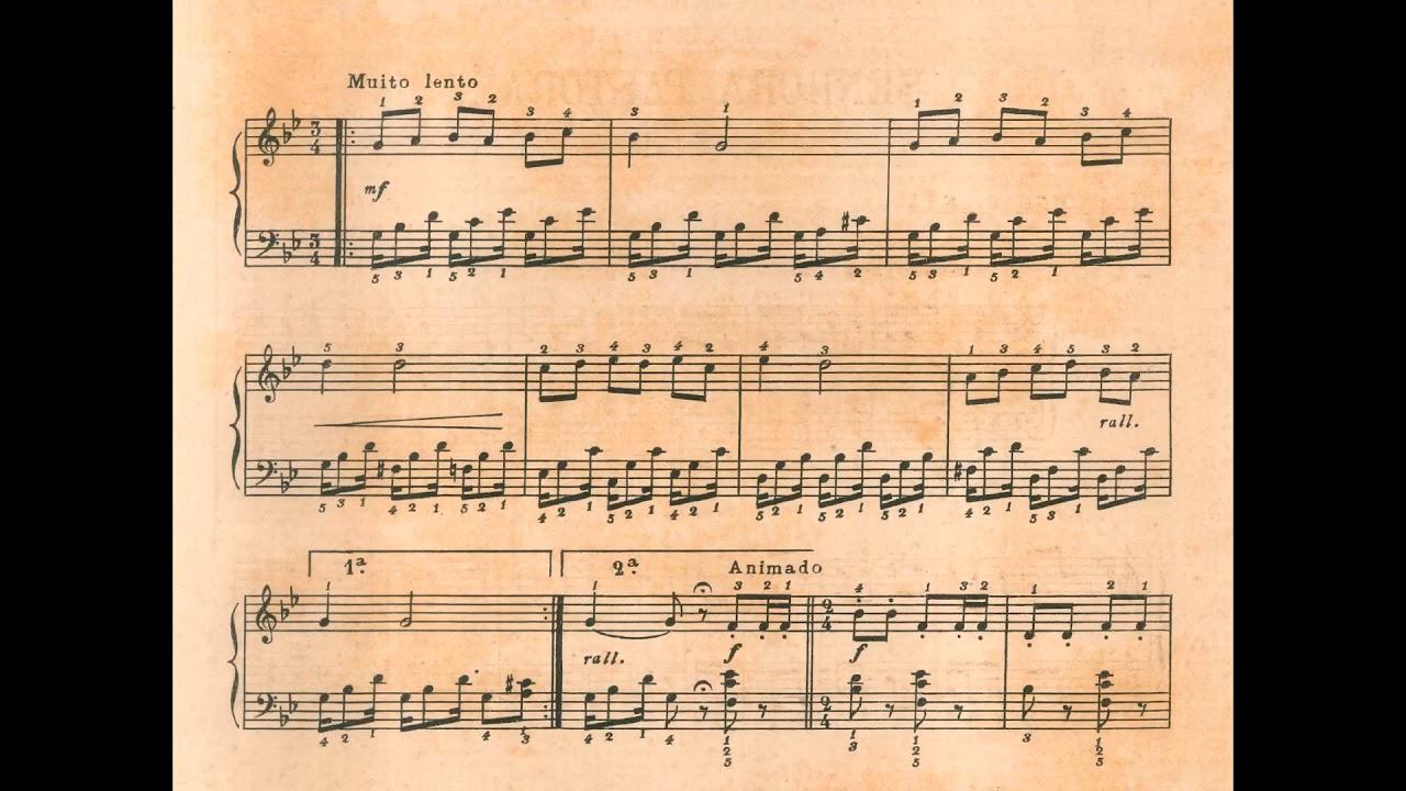 Villa-Lobos Cirandinhas N 1 Piano Zangou-Se Piano
