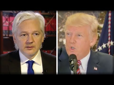 THE SHOCKING THING JULIAN ASSANGE JUST GAVE TO TRUMP WILL BRING DOWN THE DEMOCRATIC PARTY