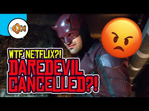 DAREDEVIL CANCELLED! WTF NETFLIX?!