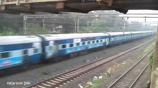 WCAM3 with Tapovan Express Skips Thakurli.