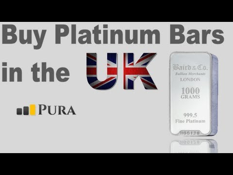 Buy Platinum Bullion Bars in the UK