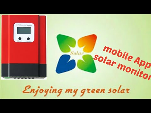 SOLAR power generation monitor  Android App