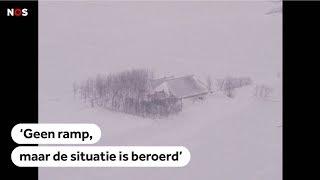 TERUG IN DE TIJD: Dorpen Noord-Nederland raakten geïsoleerd in strenge winter van 1979