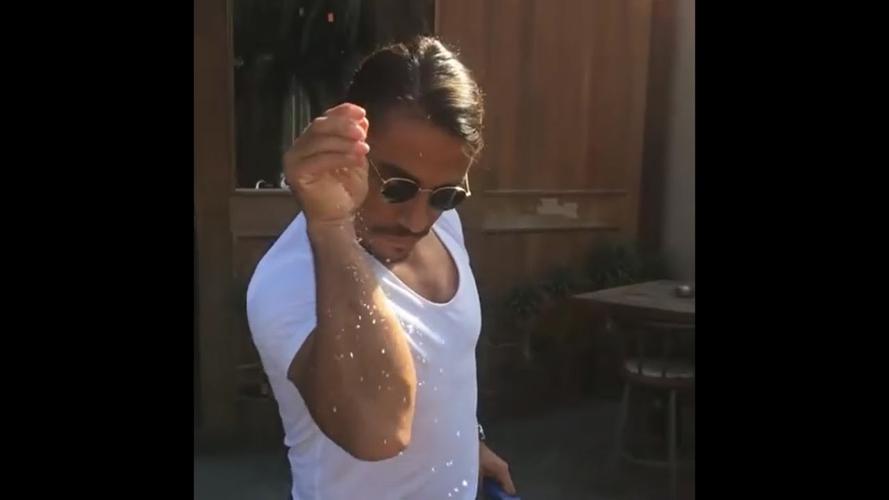 maxresdefault salt bae salt man salting steak majestic smooth salting (must
