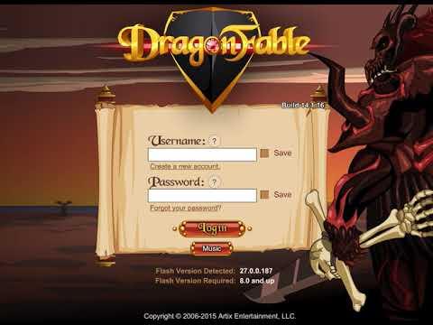 Old Login - Dragonfable Unused Soundtrack