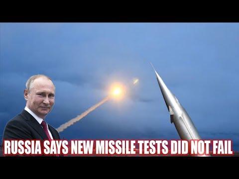RUSSIA SAYS NEW MISSILE TESTS DID NOT FAIL, 'TRUST' PUTIN NOT U.S. MEDIA  World News Radio