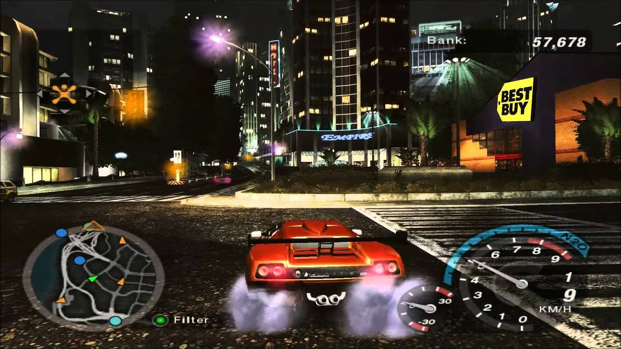 Need for Speed Underground 2 + HD textura (Ultra) 1080p (MaximumGame) (HUN)