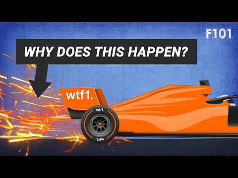 Why Do F1 Cars Spark?