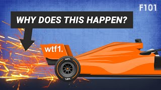 Why Do F1 Cars Spark?
