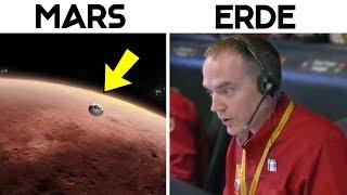 NASA schickt eine Sonde auf den Mars und stellt tatsächlich Kontakt her
