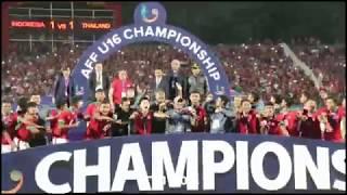 SELEBRASI JUARA TIMNAS INDONESIA, MOMEN YANG TAK AKAN MEREKA LUPAKAN | Piala AFF U-16 2018