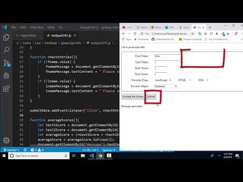 javascript.info The Modern JavaScript Tutorial Part 2: 4.4 Forms: event and method submit thumbnail