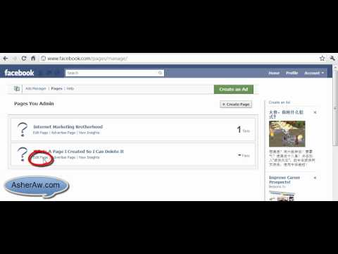 how to find out the admins of a facebook page