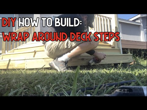 DIY How To Build: Wrap Around Deck Steps RLR S02 Ep 4