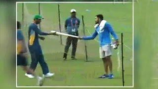 India vs Pakistan World T20: Virat Kohli gifts bat to Mohammad Amir