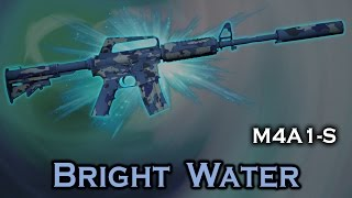 Bright Water M4A1 S StatTrak Stickers Skin Preview FN MW FT WW BS