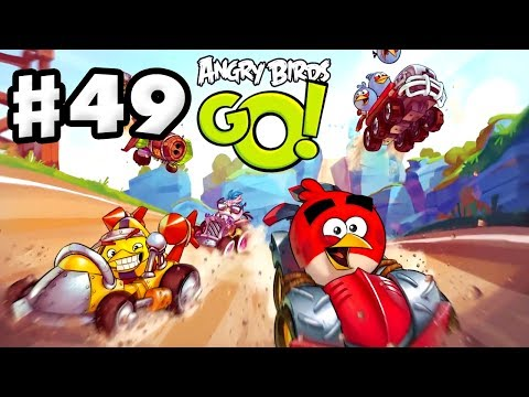 Angry Birds Go! Gameplay Walkthrough Part 49 - All Fully-Upgraded Stunt Karts! (iOS, Android)