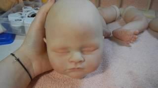 Урок 7 Как сделать куклу реборн / Наносим покраснения / Реборны / Куклы-дети