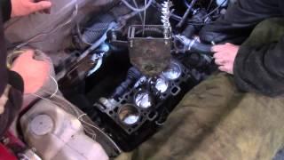 установка двигателя на автомобиль ваз 2108-09 после капитального ремонта