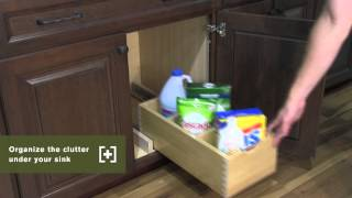 Schuler Cabinetry: Pull-out Storage Box, Kitchen Storage Part 9
