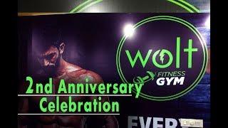 Wolt Gym Mohali | 2nd Anniversary of Gym | cheenu2683
