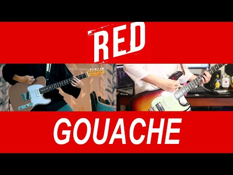 RED (movie Mix) / GOUACHE - Guitar Arrange Cover By からす & Yüyμ