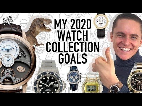 My Watch Collection Goals 2020: Rolex, G-Shock, Tudor, Seiko + More