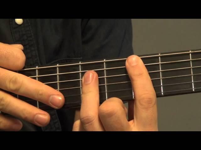 Nielson - Sexy als ik dans - gitaaruitleg - gitaarles