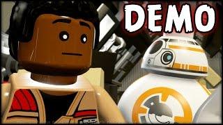 lego star wars the force awakens true jedi and finding minikits demo