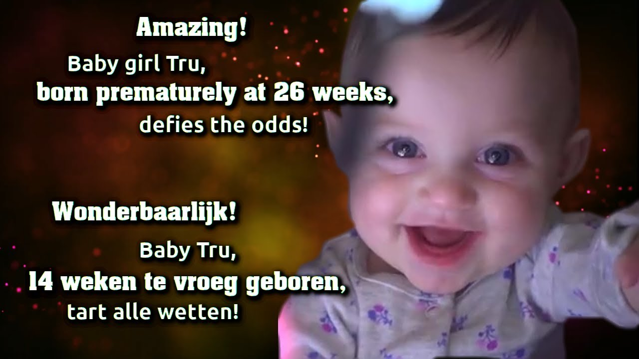 Amazing! Baby born prematurely at 26 weeks, defies the ...