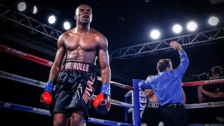 Steve Rolls 4th Round TKO over Steed Woodall | ShoBox: The New Generation