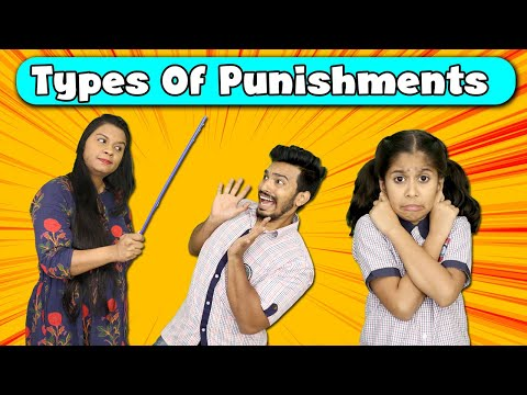 Types Of Punishments | Funny Video | Pari's Lifestyle